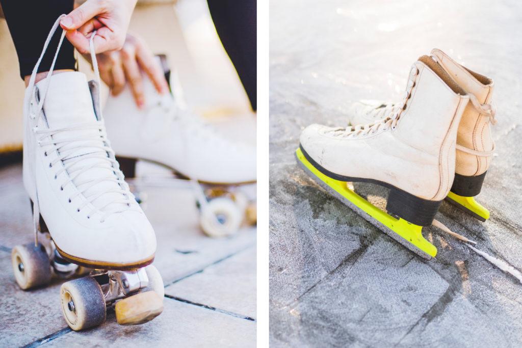 Roll- und Eislauf