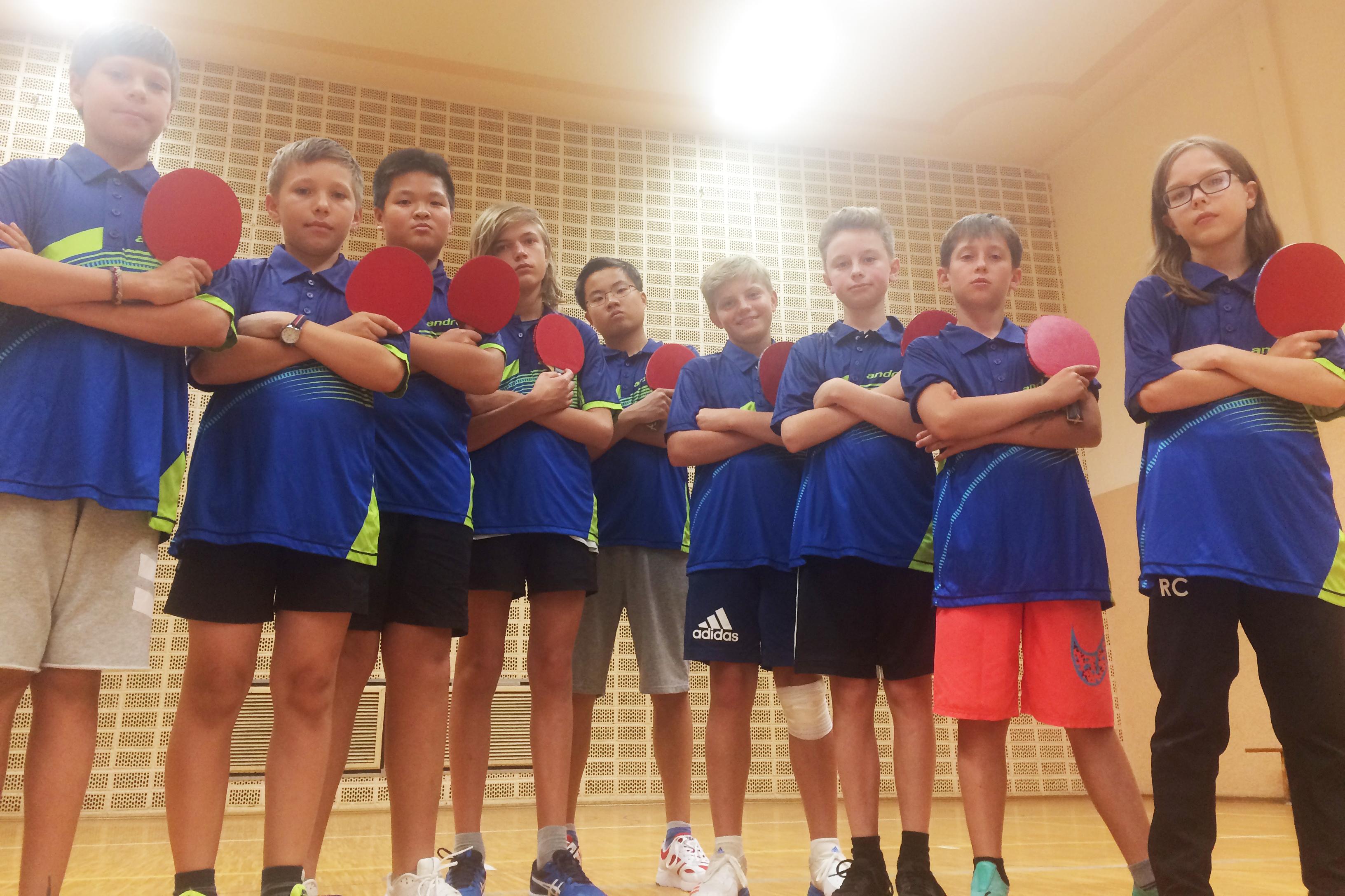 Tischtennis Schüler 2019
