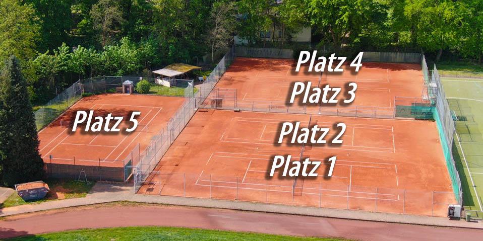 Tennisplatz Buchung